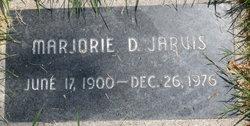 Marjorie D Jarvis