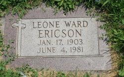 Leone <I>Ward</I> Ericson