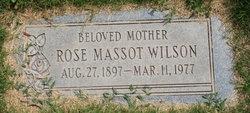 Rose <I>Massot</I> Wilson