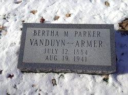 Bertha A. Armer