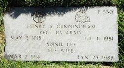 Annie Lee Cunningham