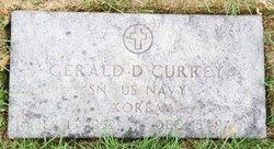 Gerald D Currey