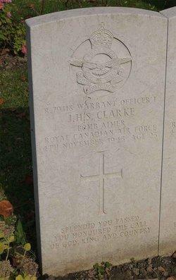 WO I James Herbert Stevenson Clarke