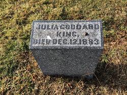 Julia <I>Goddard</I> King