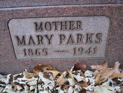Mary Alice <I>Parks</I> Emmel