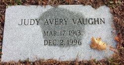 Judy <I>Avery</I> Vaughn