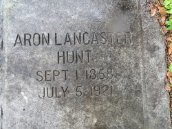 Aron Lancaster Hunt