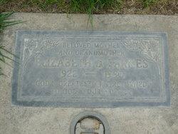 "Elizabeth J ""Betty"" <I>Wallace</I> Barnes"