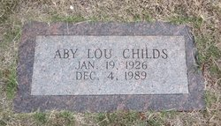 Abby Lou Childs