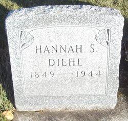 Hannah S <I>Rodermel</I> Diehl