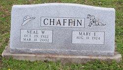 Mary Estelle <I>McCraw</I> Chaffin