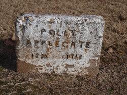 Mary Polly <I>Caudill</I> Applegate