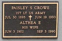 Paisley S Crowe