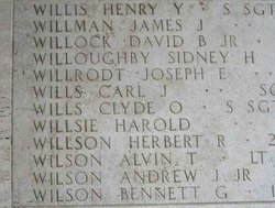 SSgt Henry Y Willis
