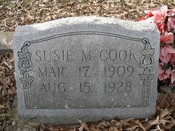 Susie <I>Marshall</I> Cook