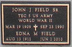 John J Field, Sr