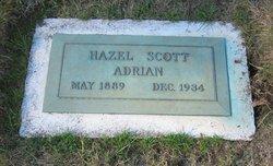 Hazel E. <I>Scott</I> Adrian