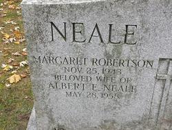 Margaret <I>Robertson</I> Neale