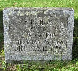 Edith Maria <I>Aldrich</I> Capron
