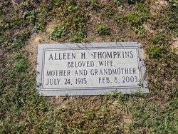 Mary Alleen <I>Hardee</I> Thompkins