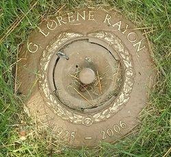 Gladys Lorene <I>Owen</I> Rayon