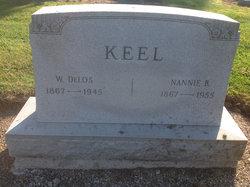 """Nancy B """"Nannie"""" <I>Anderson</I> Keel"""