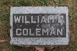 William E Coleman