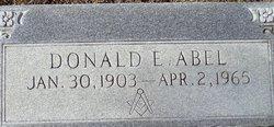Donald Edward Abel