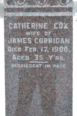 Catherine <I>Cox</I> Corrigan