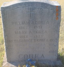 Capt William Joseph Corea