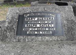 Mary Alexena <I>Davidson</I> Catley