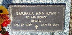 Barbara Ann <I>Harne</I> Ryan