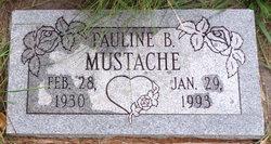 Pauline Benally Mustache