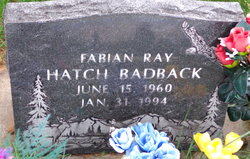 Fabian Ray <I>Hatch</I> Badback