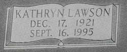 Kathryn N <I>Lawson</I> Burriss