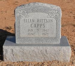 Mrs Ellen Mae <I>Hittison</I> Capps