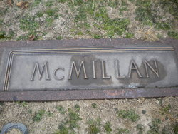 "Emma Myrtle ""Myrtle"" <I>Robinson</I> McMillan"