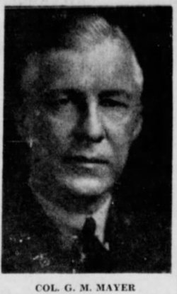 Col George Milroy Mayer