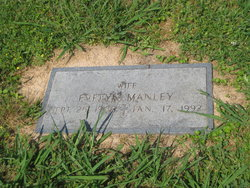 Evelyn Juanita May <I>Maxwell</I> Manley