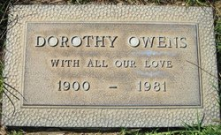 Dorothy <I>Steel</I> Owens