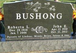 """Roberta L """"Bertie"""" <I>Hatch</I> Bushong"""