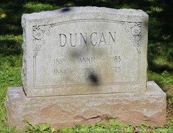Annie <I>O'Donnell</I> Duncan