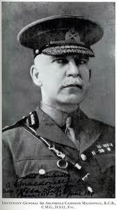 Gen Archibald Cameron Macdonell