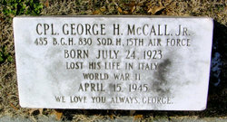 CPL George Humes McCall