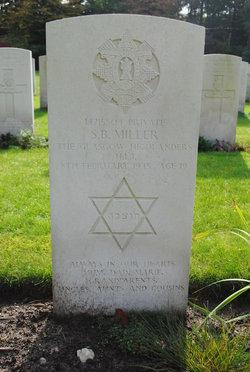 Private Sidney Benjamin Miller