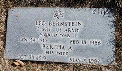 Bertha A Bernstein