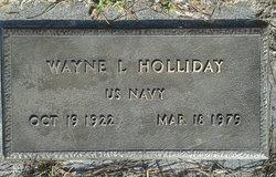 Wayne Lauder Holliday, Sr
