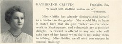 Katherine <I>Griffin</I> Armstrong
