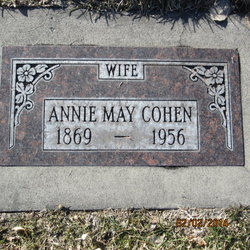 Annie May <I>Curtis</I> Cohen