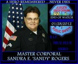 "Corp Sandra Elizabeth ""Sandy"" Rogers"